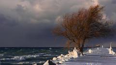 Lake Effect Squalls (_Matt_T_) Tags: winter ontario weather pentax niagara lakeontario cpl portdalhousie smcpda70mmf24limited k5iis singlechallenges