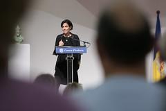 IV Premi Carlemany per al foment de la lectura.Vernica Snchez.25-11-2014 (Govern d'Andorra) Tags: iv cultura andorra esteve lectura snchez carlemany