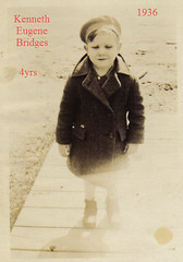 1936 Kenneth Eugene Bridges Age4Tag (modussn) Tags: 1936 4yrs kennetheugenebridges