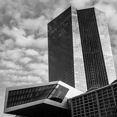 [EZB ●  Frankfurt  / Februar 2015] (querformat-fotografie) Tags: street architecture frankfurt ezb osthafen