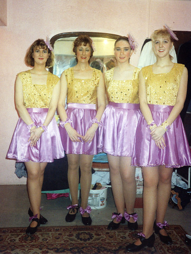 1992 Ali Baba 03 (from left Sally Capp, Linda Ellis,Alison Carr,x)