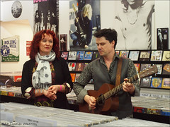 Kathryn Roberts & Sean Lakeman 2 (ExeDave) Tags: uk england music shop tour folk live duo devon independent exeter singer gb record vocalist sw guitarist instore lakeman kathrynroberts seanlakeman roosterrecords tomorrowwillfollowtoday p2283447