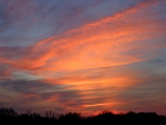 Sunset 1-15-15 (therealjoeo) Tags: sunset sky clouds texas taylor