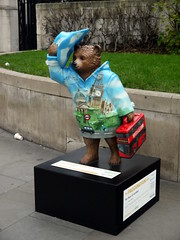 The Bear of London (Worthing Wanderer) Tags: christmas winter london westminster december sunny paddington
