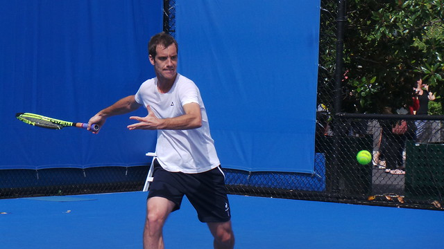 Richard Gasquet - 2015 Australian Open