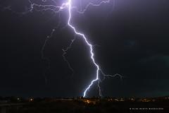 Una noche de tormenta. (PITUSA 2) Tags: naturaleza noche verano tormenta rayo zamora puebladesanabria relámpago castillayleón elsabustomagdalena