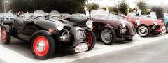 Lined up (vale0065) Tags: oldtimer tessenderlo auto citroen burton lepatron lomax french frans 2cv car kitcar kirkar diys engine twin boxer boxerengine twincylinder classiccar opencar