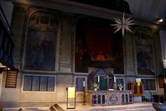 St. Johannis Kirche Soltau 2015 (Rdiger Stehn) Tags: winter germany deutschland europa kunst kirche indoor altar architektur bauwerk gebude barock kunstwerk norddeutschland niedersachsen mitteleuropa gemlde soltau wandgemlde innenaufnahme sakralbau sptbarock 2000er neubarock historischesbauwerk saalkirche sakralkunst canoneos550d