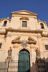 Chiesa San Paolo Apostolo at the end of Via Silvia Pellico, Modica (Paul and Jill) Tags: italy sicily modica viasilviopellico chiesasanpaoloapostolo