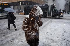 fur (zlandr) Tags: street city nyc newyorkcity urban snow newyork storm manhattan candid flash olympus midtown juno omd em5 chrisfarling zlandr