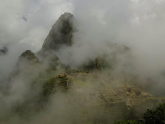 Misty Machu Picchu - Peru (Rogg4n) Tags: travel mist mountain peru southamerica nature machu picchu misty fog inca clouds america trek wonder landscape ancient agua ruins nebel antique sony south terraces foggy jungle latin andes sur machupicchu nuage archeology civilisation cloudscape mystic antic precolombian brume sud caliente incas myst lostcity ruines latine mysty andina worldwonder amérique brumeux queshua worldsgreatwonders dscwx300