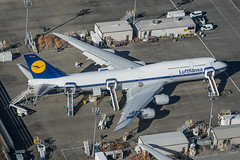 KPAE - Lufthansa B747-8 D-ABYT (CKwok Photography) Tags: lufthansa kpae queenoftheskies dabyt b7478