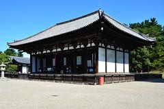 Kofukuji Hall (pokoroto) Tags: autumn building japan hall october  nara kansai kofukuji 2014 10    naraprefecture  kannazuki   themonthwhentherearenogods 26