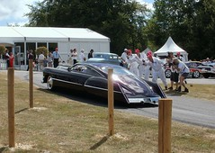 1948 Cadillac Sedanette 'Cadzilla' (cerbera15) Tags: festival speed cadillac goodwood 2010 cadzilla sedanette