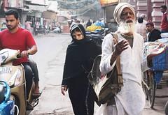 The Norton Anthology of World Religions (Mayank Austen Soofi) Tags: world street beard veil delhi muslim islam prayer norton religions burqa anthology walla the