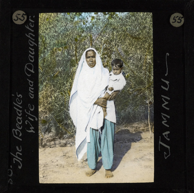 The Beadles Wife and Daughter, Jammu, ca.1875-ca.1940 (imp-cswc-GB-237-CSWC47-LS10-055)