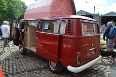 1972 Volkswagen Type 2 (T2) Camper Van  VRB 726K (Paul D Cheetham) Tags: 2 classic cars car volkswagen four village flat head sunday transport over engine august motors vehicles valve classics gathering type vehicle motor 16 petrol van 1972 camper tramway 24th litre t2 2014 crich vrb flatfour 1584cc overheadvalve 726k vrb726k