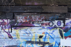 blocked colors (drew*in*chicago) Tags: streetart chicago reflection art graffiti amazing artist talent 2015 crawfordmetal