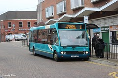 Arriva Midlands 2546 YN53SVT (Andy4014) Tags: bus leicestershire leicester solo interurban arriva hinckley optare yn53svt