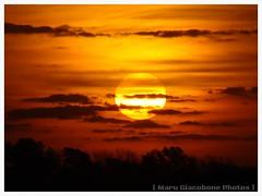 Atardecer acuarelado #Sunset