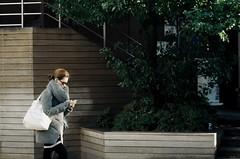 Lady (Kenny Banana) Tags: street leica people film japan lady analog tokyo kodak 90mm elmar daikanyama leitz gold200