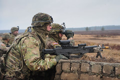 150302-A-KG432-109 (Atlantic Resolve) Tags: training estonia european arms poland baltic latvia atlantic ranges mounted program land states foreign combat 2d command 3rd joint lithuania cavalry weapons lt squadron regiment multinational resolve reassurance dismounted jmtc pabrade