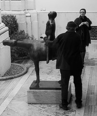 """Horace, rubbing that will not make a Genie appear!"" (adamnsinger) Tags: venice peggy guggneheim horse erection masturbation bestiality cock genie genii leica monochrome 50mm summicron asp asph bronze porn pure ecstasy rubbing sculpture men touching marino marini statue penis big en enormous erotica erotic gallery art rider ridden"