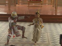 Khon Dance Vimanmek Palace Bangkok
