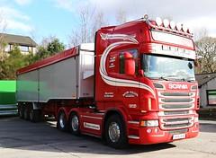 Scania R560 Kevin Cullen Buncrana Ireland A9 Photos Frank Hilton 13032015 026 (Frank Hilton.) Tags: classic truck frank photos hilton scottish lorry trucks a9