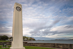 Watson Memorial (duncan_mclean) Tags: longexposure clock architecture auckland le northhead devonport watsonmemorial bigstopper