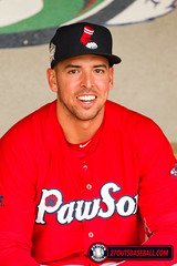Chris Marrero (kenjancef) Tags: us unitedstates baseball redsox rhodeisland pawsox minorleaguebaseball pawtucket aaabaseball pawtucketredsox milb charlotteknights chrismarrero pawsoxbaseball