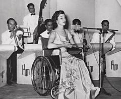 1950s Polio Singer (jackcast2015) Tags: polio infantileparalysis poliomylitis handicapped disabledwoman crippledwoman wheelchair