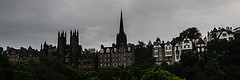 Skyline Above The Mound (Brian Travelling) Tags: panorama skyline buildings scotland edinburgh pentax pano panoramic lothian themound pentaxdal pentaxkr