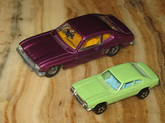 Playart original design Ford Capri not copied from Dinky or Corgi (sms88aec) Tags: playart dinky ford capri