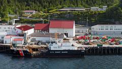 USCGC Anthony Petit at the Buoy Yard (Whidbey LVR) Tags: lyle rains lylerains olympus em5ii alaska cruise boat ketchikan
