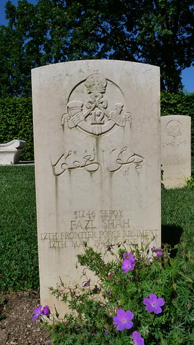 Monte Cassino - the Commonwealth War Cemetery, Frontier Force Regiment