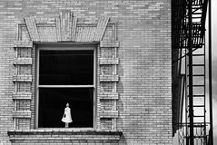 Dollhouse (Ian Sane) Tags: park street camera two white black southwest building window oregon canon wednesday portland lens ian fire photography eos is doll downtown escape mark bricks images ii 5d usm avenue dollhouse yamhill sane ef70200mm f28l