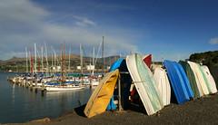 At the marina. Port Lyttleton. (Bernard Spragg) Tags: water port marina boats seaside scenery harbour nautical lyttleton lumixfz1000