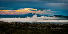 Elghhgna, sweeping mist (photomatic.se) Tags: ifttt 500px grvelsjn dalarna sweden landscape mountain sweeping mist fog wood sunset elghhgna norway