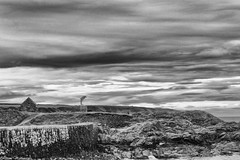 Portsoy Dolphin (AdamMatheson) Tags: blackandwhite bw sculpture monochrome landscape lumix mono scotland blackwhite scenery dolphin scottish scene moray morayfirth morayshire portsoy scottishlandscape scottishscenery fz150 portsoyharbour dmcfz150 adammatheson panasoniclumixfz150 lumixfz150 adammathesonphotography