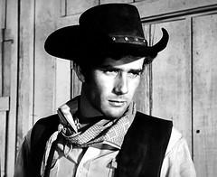 "Robert Fuller in ""Laramie."" (stalnakerjack) Tags: television actors tv hollywood laramie robertfuller tvwesterns"
