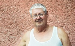 My Grandpa / regapm (lacsikviky) Tags: nikon nikonphoto nikonphotography d3100 50mm hungary enese naturallight natural man boy grandpa granddad grandparents portraimood portrait