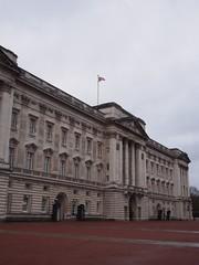 View of Buckingham Palace from Spur Rd. (procrast8) Tags: uk england london britain united kingdom palace buckingham