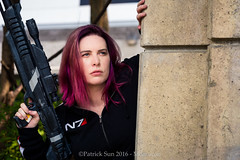 SP_44247-2 (Patcave) Tags: momocon momocon2016 2016 convention cosplay costumes cosplayers marvel dc portrait shoot shot canon 1740mm f4 sigma 85mm f14 lens patcave 5d3 atlanta georgia world congress center outdoors hot humid commander shepherd mass effect