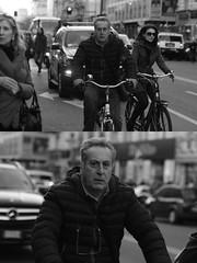 [La Mia Citt][Pedala] (Urca) Tags: milano italia 2016 bicicletta pedalare ciclista ritrattostradale portrait dittico nikondigitale mir bike bicycle biancoenero blackandwhite bn bw 872113