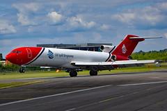 G-OSRA Boeing 727-2S2F Oil Spill Response  FAB (Jetstar31) Tags: gosra boeing 7272s2f oil spill response fab