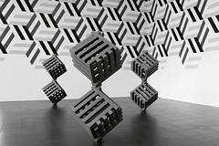 image (Kathi Huidobro) Tags: contemporary art artgallery london geometric contemporaryart patterns bw cubes components isometric jimislermann exhibition exhibitionspace bloomberg