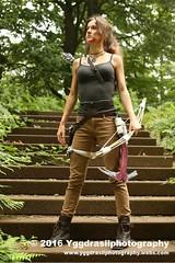 Tomb Raider Shoot with Annick  20 (berserker244) Tags: yggdrasilphotography60072016 guerrillaphotography yggdrasilphotography evandijk annick annickscosplay laracroft tombraider riseofthetombraider grebbeberg rhenen