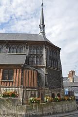 2016.06.28.031 HONFLEUR - Eglise Sainte-Catherine (alainmichot93 (Bonjour  tous)) Tags: 2016 france normandie seinemaritime honfleur architecture glise chevet colombages