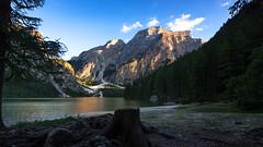 Pragser Wildsee Abendstimmung (Wilflingseder) Tags: pragserwildsee lago italy italien veneto dolomiti bellunesi belluno nebbia landscape raw nikon outdoor